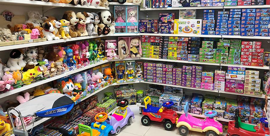 Як оформити магазин іграшок